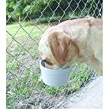 Lixit 30-0740-012 Jumbo Cage Crock for Dogs, 40-Ounce, My Pet Supplies