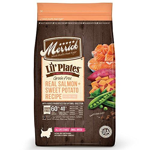 (Merrick Lil Plates Grain Free Small Breed Recipe, 12-Pound, Salmon)