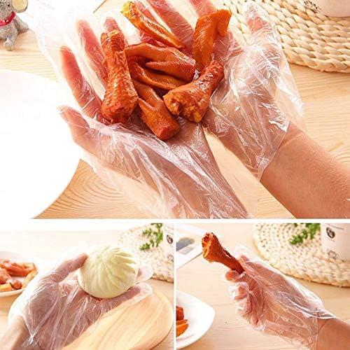 Yukiko Plastic Disposable Gloves Restaurant Home Service Catering Hygiene