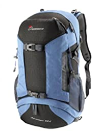 Mountaintop 45L Camping Hiking Backpack Travel Climbing Rucksack Cycling Bag Outdoor Water-resistant Daypack M5816(Medium Blue)