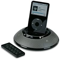 JBL On Stage Micro - Portable speakers with digital player dock for iPod - 60 Watt (total) - black
