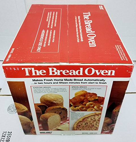 Welbilt ''The Bread Oven'' ABM600 Bread Maker Machine NEW IN BOX by Welbilt (Image #3)