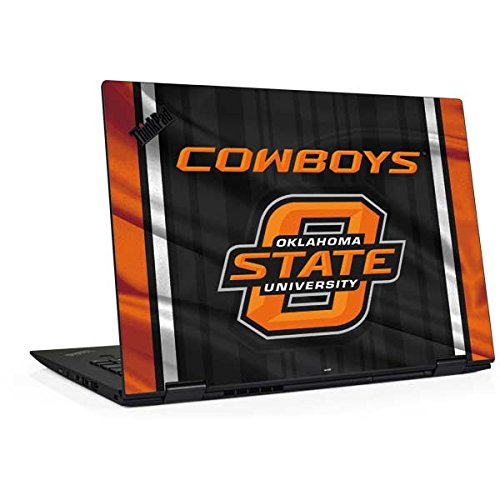 Skinit Oklahoma State Jersey Thinkpad X1 Yoga (3rd Gen, 2018) Skin - Officially Licensed College Laptop Decal - Ultra Thin, Lightweight Vinyl Decal Protection