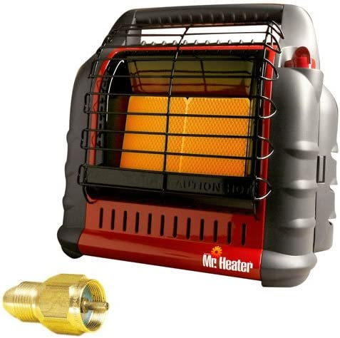 Mr. Heater MH18B BIG Buddy Indoor Safe Propane Heater with Adapter