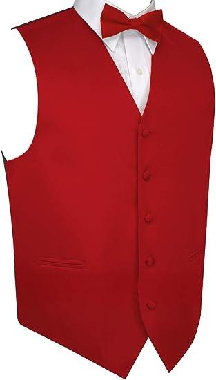 Mens Classic Silver Herringbone Tuxedo Fullback Vest /& Tie Choose Sizes Wedding