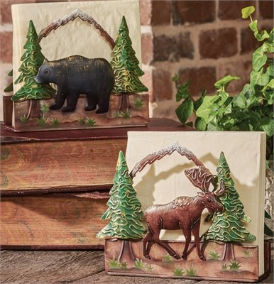- Bear Luncheon Napkin Holder, Park Designs