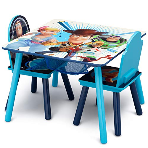 51YPLr2xK6L - Delta Children Kids Chair Set and Table (2 Chairs Included), Disney/Pixar Toy Story 4