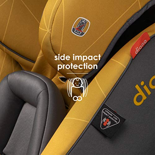 Diono Radian 3RXT All-in-One Convertible Car Seat, for Children from Birth to 120 Pounds, Black