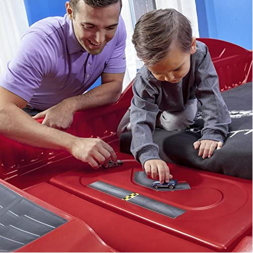 Step2 Corvette Z06 Toddler Bed to Twin Bed 5