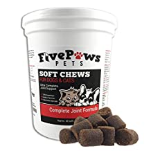 Premium ALL-IN-ONE JOINT & WELLNESS TREAT for DOGS or CATS. *US Sourced Ingredients *Pure Glucosamine, Chondroitin Sulfate, MSM, Full Multi -Vitamin With Every Dose, 100% Satisfaction Guarantee
