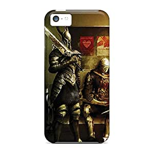 iphone 5c Protection phone case cover Protective Attractive dark souls prepare to die edition