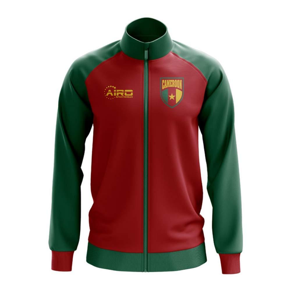 Airo Sportswear Cameroon Concept Football Track Jacket (ROT) - Kids