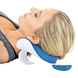 Vive Neck and Shoulder Relaxer - Chiropractic Pillow Traction Stretcher Device - Cervical Spine Relieve, Neckbone Muscle Tension Reliever - Pressure Support, Stiff Chronic Pain, Disc Alignment Relief