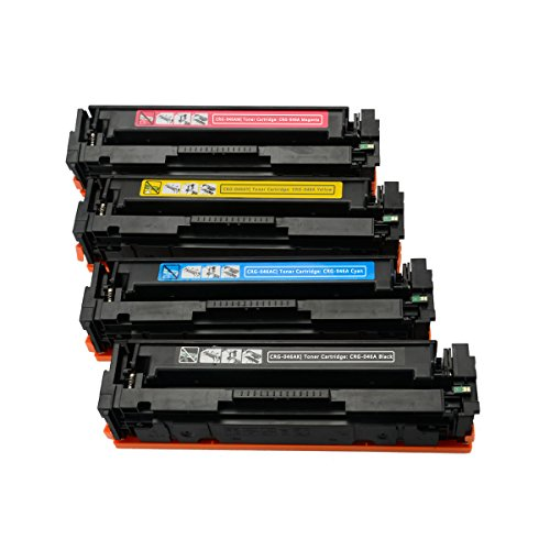 JC Toner Compatible for Canon 046 046A CRG-046H Toner Cartridge for use with Canon  Color LaserJet MF731Cdw MF733Cdw MF735Cdw Series (Series Yellow Compatible Toner)