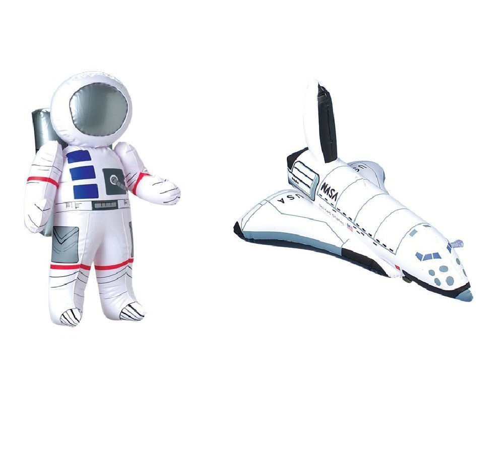 Amazoncom Outer Space PARTY DECORATIONS Inflatable ASTRONAUT - Astronaut decorations