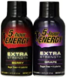 5 hour energy extra - 5 Hour Energy Extra Strength Variety Pack