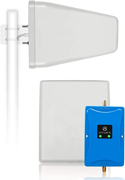 Vimevemi Indoor Antenna for Cell Phone Signal Booster Omni Whip Antenna White SMA AT/&T Verizon T-Mobile US Cellular Band 1 2 4 5 12 13 17 698-2700mhz Signal Booster Indoor Omni Directional Antenna
