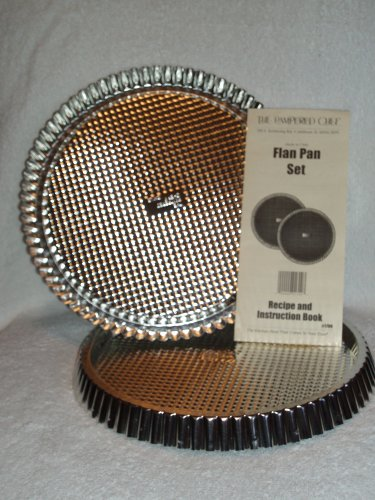 The Pampered Chef Flan Pan Set