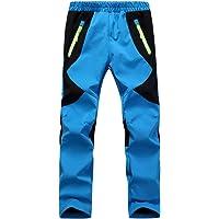 CAMLAKEE Pantalones Trekking Niña - Pantalones de Montaña Niño Impermeables Transpirable - Pantalón Senderismo Invierno
