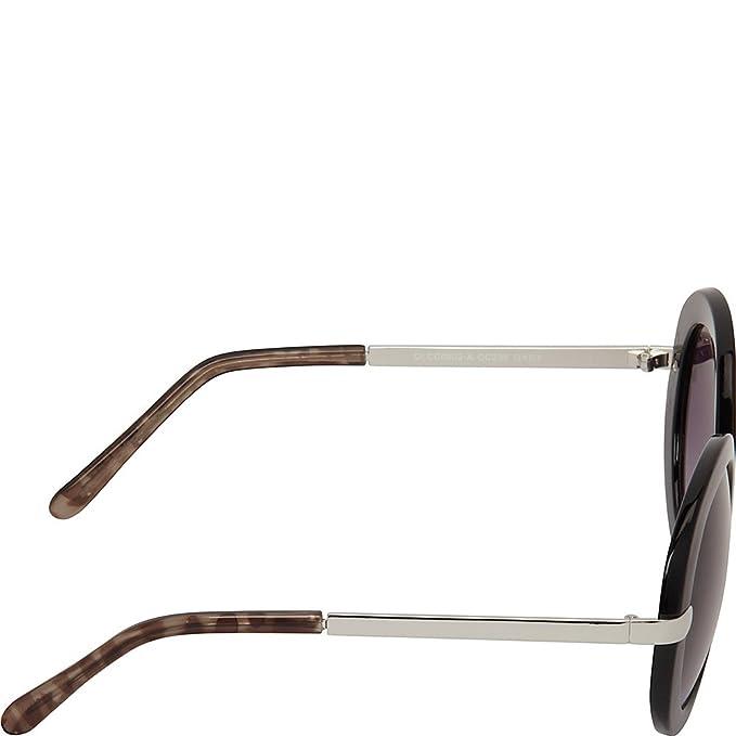 fbf6d52aff9 Amazon.com  Circus by Sam Edelman Sunglasses Oval Glam Combo Sunglasses  (Black Grey)  Clothing