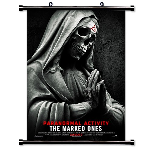 Paranormal Activiy: The Marked Ones Movie Fabric Wall Scroll Poster (32'' x 47'') Inches by MovieWallscrolls