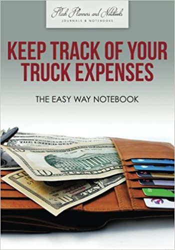 keep track of your truck expenses the easy way notebook flash