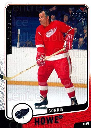 (CI) Gordie Howe Hockey Card 2000-01 Upper Deck Legends (base) 41 Gordie ()