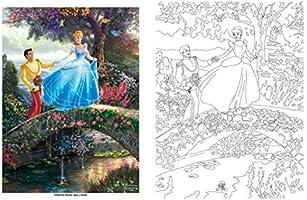 Disney Dreams Collection Thomas Kinkade Studios Coloring Book Disney Dreams Collection Thomas Kinkade Studios Coloring Book Amazon Com Au Books