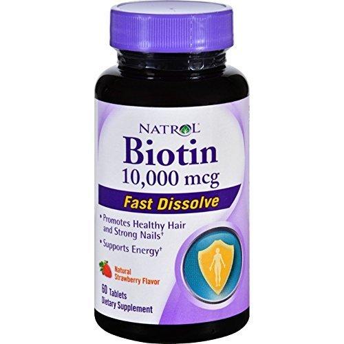 Biotin 10,000mcg Fast Dissolve