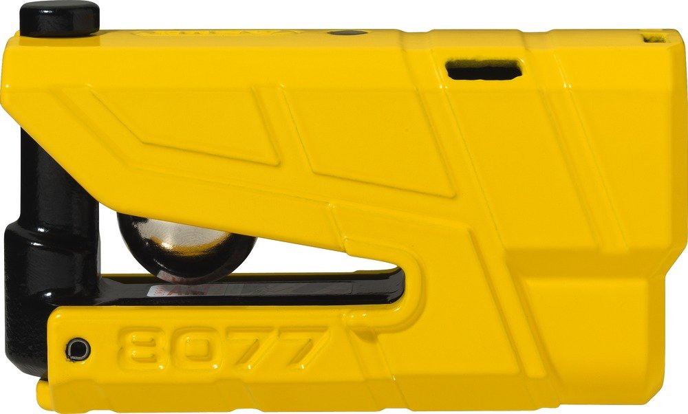 ABUS 78611-2  Lock Motorcycle Alarm SRA, Yellow