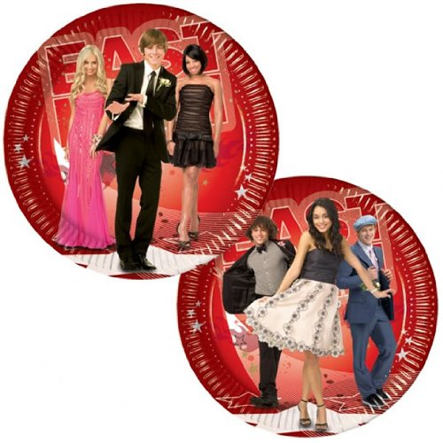 Amscan International Pack Of 10 High School Musical 23Cm Paper Plates.