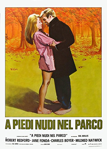Barefoot In The Park (Aka A Piedi Nudi Nel Parco) L-R: Jane Fonda Robert Redford On Italian Poster Art 1967 Movie Poster Masterprint (24 x 36)