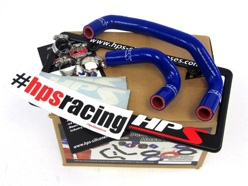 HPS 57-1312-BLUE Blue Silicone Heater Hose Kit (Coolant)