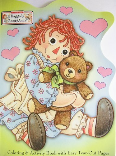 Raggedy Ann & Andy (Coloring & Activity -