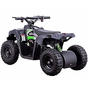 Monster 500W 36V Electric Ride-On ATV for Kids, Green