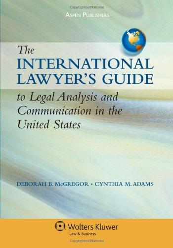 International Lawyers Gde To Legal Analysis &...