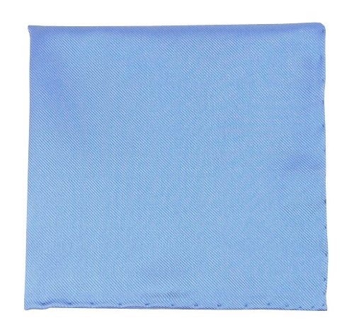 Clip Twill (The Tie Bar Solid Twill Mystic Blue Pocket Square)