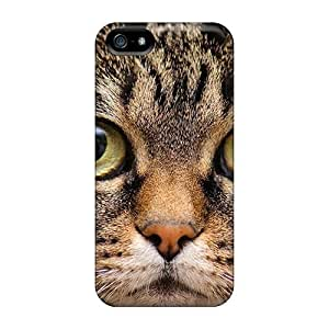 5/5s Scratch-proof Protection Case Cover For Iphone/ Hot Cat Phone Case