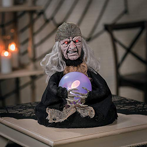 Fun Express Animated Witch Fortune Teller (Teller Fortune Decorations)