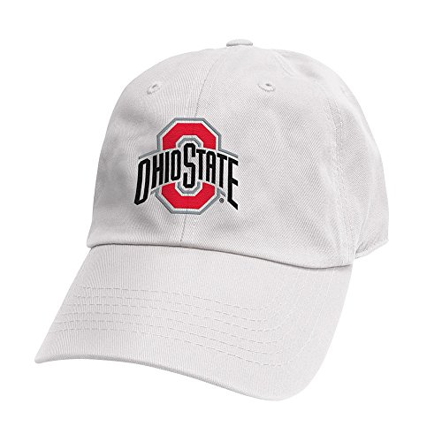 Top of the World Ohio State Buckeyes Men's Hat Icon, White, Adjustable
