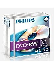 DN4S4J05F - 5 x DVD-RW - 4.7 GB ( 120 Min. ) 1x