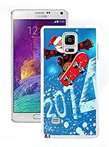Cool Design 2014 Merry Christmas White Samsung Galaxy Note 4 Case