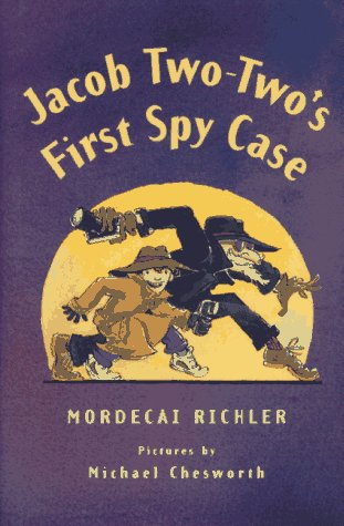 book cover of Jacob Two-Two\'s First Spy Case