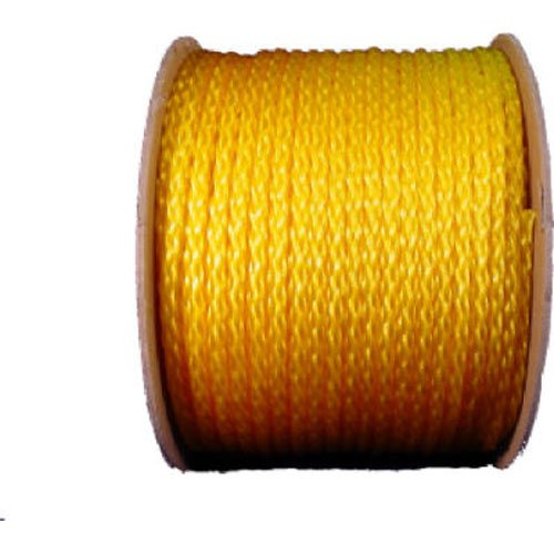 WELLINGTON CORDAGE 10841 3/8-Inch X 500-Feet Yellow Poly Rope