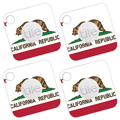 MightySkins Skin for Tile Mate - California Flag | Protective, Durable, and Unique Vinyl Decal wrap Cover | Easy to Apply, Remove, and Change Styles | Made in The USA