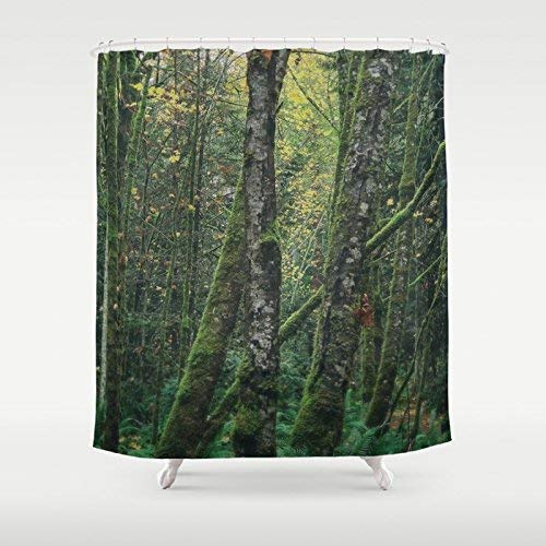 Amazon Tree Print Custom Shower Curtain