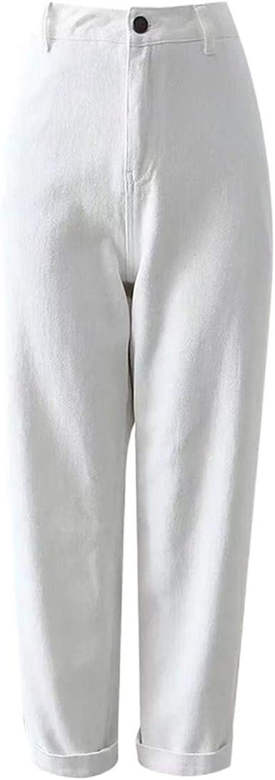 Pantalones Mujer Petite Chino Pantalones Bolsillo Detalle Relajado Cargo Amazon Es Ropa Y Accesorios