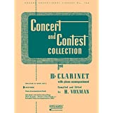 Concert and Contest Collection for Bb Clarinet: Solo Book Only
