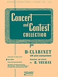 Concert & Contest Collection For Bb Clarinet: Solo Book Only