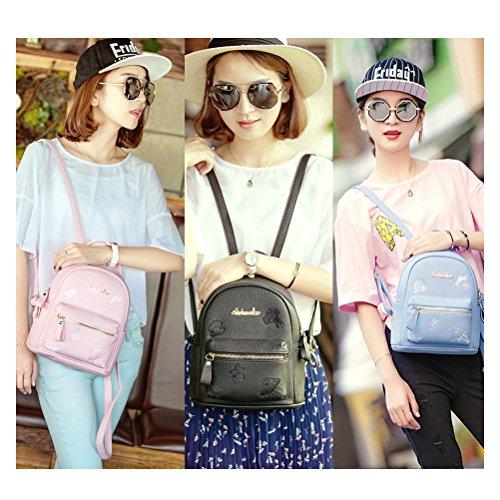 Bag Woman Pink Yimoji Shoulder Leatherette 7x6FUZ